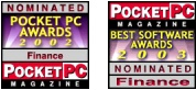PocketExpense Pro awards