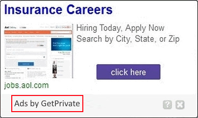 GetPrivate is to blame for the influx of advertisements