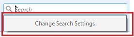 Go to Change Search Settings