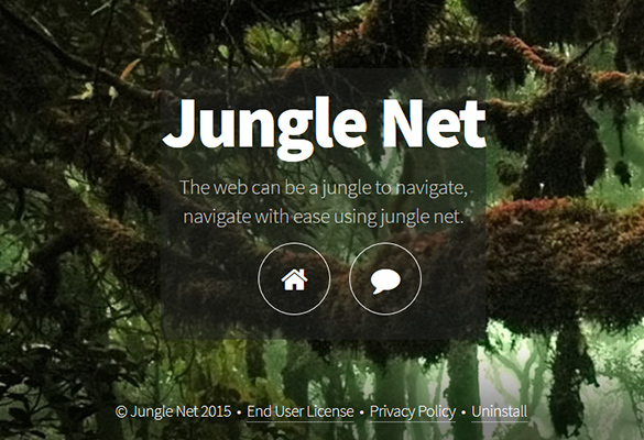 Jungle Net claims to improve web browsing but makes a mess of it instead