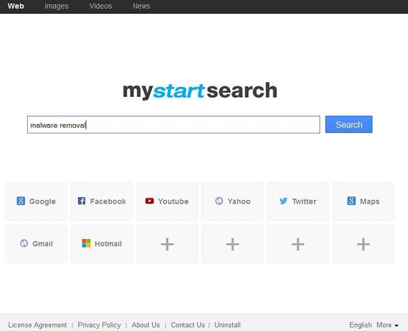 MyStartSearch.com screenshot