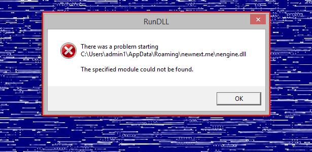 Remove Nengine.dll error popup