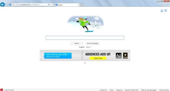 Iminent start page